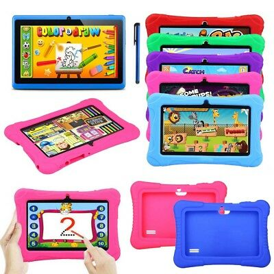 Tablet PC for Kids Gift 7' inch Quad Core HD Android 4.4 KitKat Dual Camera WiFi
