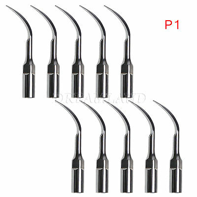 10Pcs P1 Perio Tips For EMS WOODPECKER Ultrasonic Dental Scaler Handpiece fr