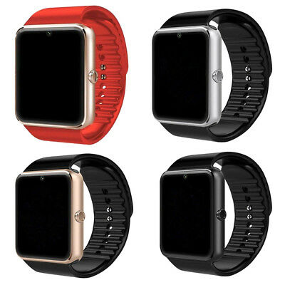 Bluetooth Smart Wrist Watch GT08 Touch screen Phone Mate GPRS For Android iPhone