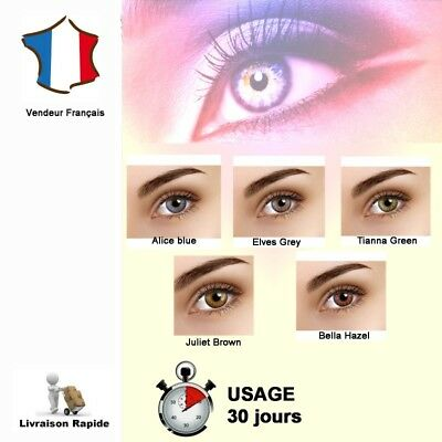 lentille de couleur - Color Contact Lenses - FLASH color contacts