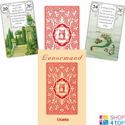 Red Owl By Mlle Lenormand 36 Karten Deck Esoteric Telling Agm Neu