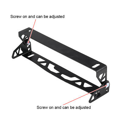 Universal Car Styling Aluminum License Plate Frame Number Plate Cover Holder TP