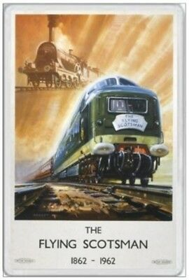 Flying Scotsman - Jumbo Fridge Magnet - Scots Scotland Railway Railroad Train 22