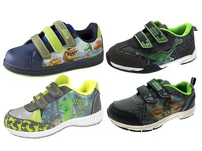 8e9f82fe752e BOYS THE GOOD Dinosaur Trainers Adjustable Straps Casual Character Shoes  Size - EUR 17