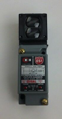 Cutler Hammer E51SAL/E51DP1 Proximity Limit Switch (switch body+photoelec. head)