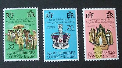 New Hebrides English 1977 Silver Jubilee MNH UM unmounted mint xx6