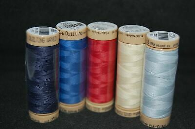 Mettler Waxed Hand Quilting Thread 40 wt. 150 Metres Various Colours