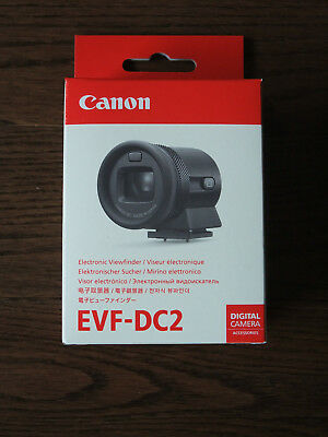 Brand New Genuine Canon EVF-DC2 Silver Electronic Viewfinder EVF for EOS M3 M6