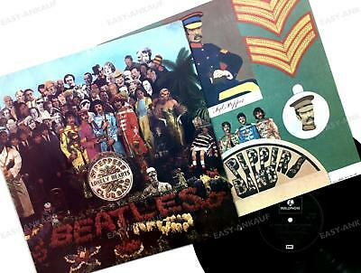 The Beatles -Sgt. Pepper's Lonely Hearts Club Band FRA LP 1976 FOC + Insert /3