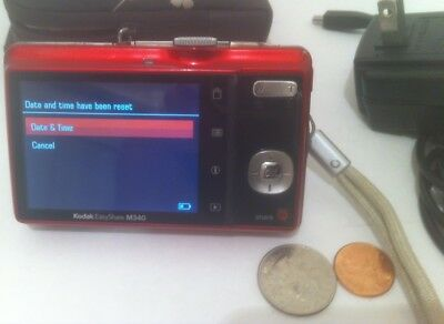 KODAK Digital Camera EasyShare M340 10MP with 3x Optical Zoom and 2.7 inch LCD