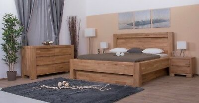 Luxury Solid Oak SuperKing Bedroom Set 50 Year Guarantee IMPERIA (made to order)