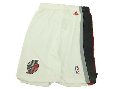 02c52858 Portland Trail Blazers Youth Kids Size Official NBA Adidas Athletic Shorts  New