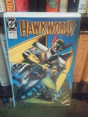 Hawkworld (2nd Series) #1 (Direct, 1990)