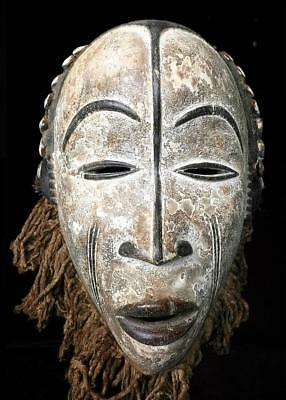 Old Tribal Idoma Headdress Mask    ---  Nigeria  BN 39