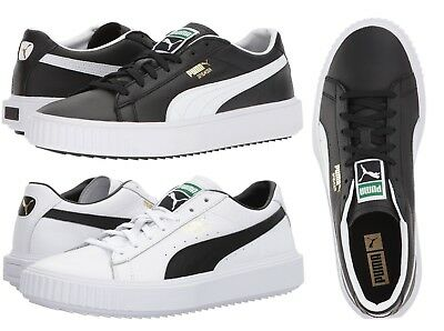 c1b0224038c6 PUMA Breaker Gold Logo Men s Casual Fashion Sport Shoes Sneakers Black White