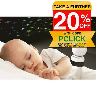 Roger Armstrong Sleep Egg Night Light Projection for Baby/Infant w/ Sound/Colour