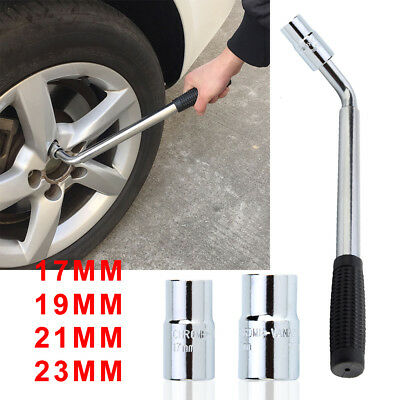 Telescopic Wheel Brace Wrench Car Van Socket Tyre Nut 17 19 21 23mm