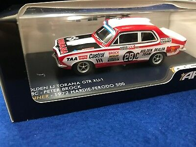 1:43 Holden LJ Torana GTR-XU-1 #28C PETER BROCK winner 1972 APEX AR41201