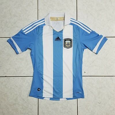 check out d8f28 ed695 ADIDAS 2011 ARGENTINA National Team Home Soccer Jersey [SMALL]