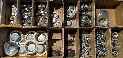 Push Nuts For Unthreaded Rod Axles & Rivets Assortment 13 Sizes 237 Pieces