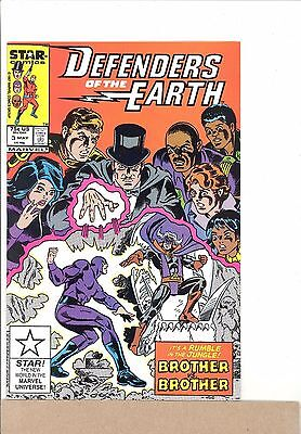 1987 Marvel Star Comics DEFENDERS OF THE EARTH #3 The Phantom VF/NM