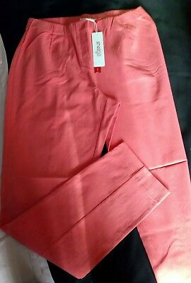 Posten : 20x Sheego Stretch Hose Business Casual Damenhosen Apricot viele Gr NEU