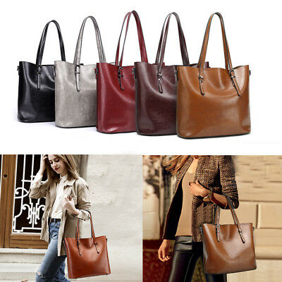 Best Quality Women Lady Soft Leather Handbags Shoulder Bags Messenger Tote Purse