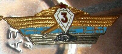 Russian Soviet era for officers 4 different qualification badges Russia