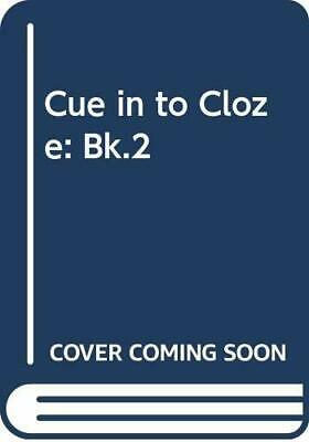 Cue In To Cloze BOOK 2: Bk.2 by Hutchinson, Lynn Paperback Book The Cheap Fast