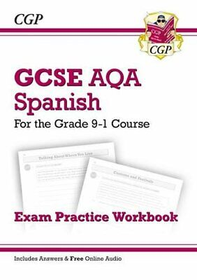 New GCSE Spanish AQA Exam Practice Workbook - for the Grade 9-1 ... by CGP Books