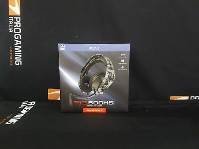 Plantronics Stereo Gaming Headset Rig 500HS Ps4