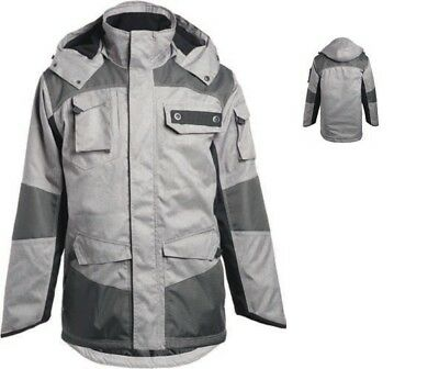 Ropa laboral. Parka acolchada.Color GRIS. Talla-L NORTHWAYS