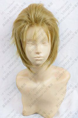 Final Fantasy:Type-0  Jack green short costume Cosplay wig Anime /hair