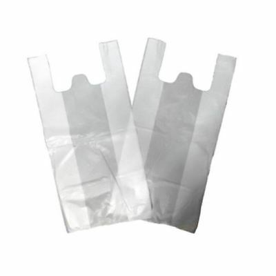 "White Carrier Bag 13X19X25"" 25IN x 1000"