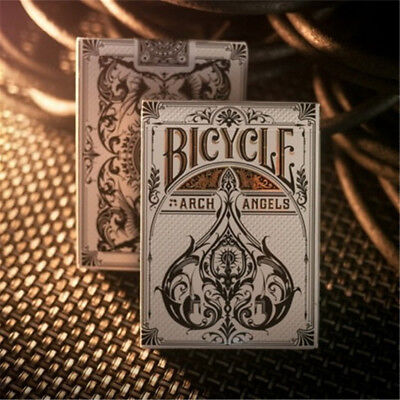 1 Deck Bicycle Archangels Playing Cards Poker USPCC Theory 11 Magic Props Tricks