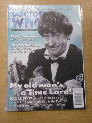 Doctor Who #306 2001 Jul 25 British Weekly Monthly Magazine Dr Who Dalek