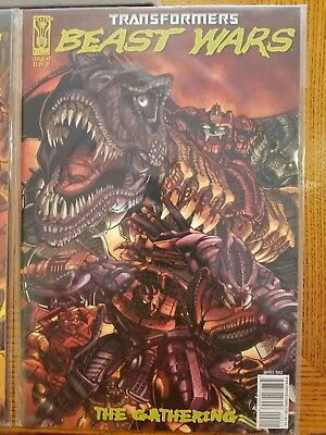 Transformers Beast Wars The Gathering #2D 2006 Never Read