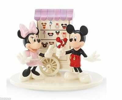 Lenox Disney Sweet Treats with Mickey and Minnie Collectible Figurine New