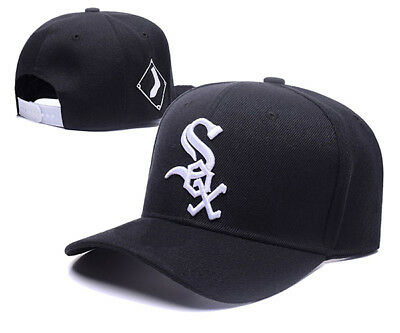 Chicago White Sox Baseball MLB Unisex Hat Cap Black & White Insignia AU Stock