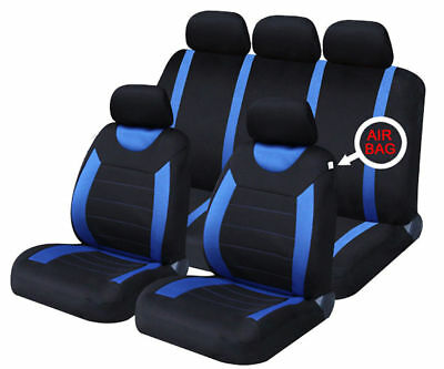 CITROEN C3 PICASSO 09-ON Blue Carnaby Luxury Full Set Car Seat Covers