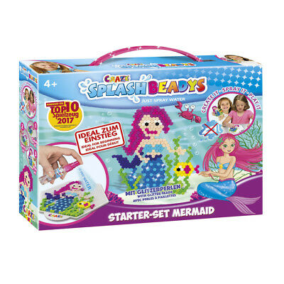 Craze Splash Beadys Starter Set Nixe Meerjungfrau Mermaid Glitzerperlen
