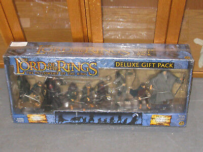 """ToyBiz 81271 LOTR """"Fellowship Of The Ring"""" Action Figures Deluxe Gift Pack *NEW*"""