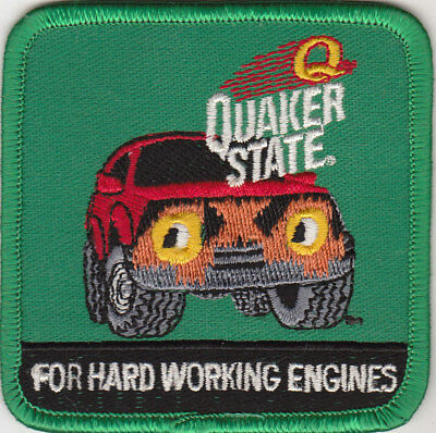 """Patch Quaker State Oil """"For Hard Working Engines"""" (New)"""