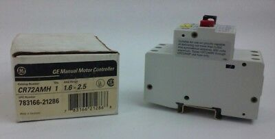 General Electric CR72AMH Manual Motor Controller/Starter (NEW)