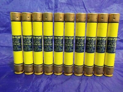 New Lot Bussmann LPS-RK-5SP 5 Amp Fuses Low-Peak 600 Volts