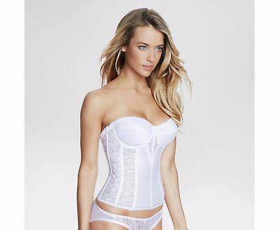 f566b82c6bc63 NEW DOMINIQUE 8949 Satin And Lace Corset Bridal Bustier Size 32 ~ 48 ...
