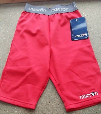 Macron Proton Baselayer Under Shorts Colour Red Sizes 2XS or XS