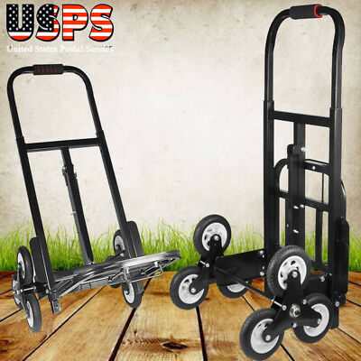 750LB Heavy Duty STAIR CLIMBING Moving Dolly Hand Truck Warehouse Appliance Cart