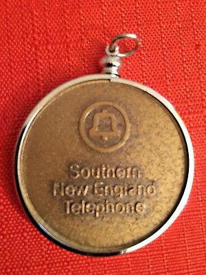 S.n.e.t.  =Southern New England Telephone 100 Year Bronze Commerative Medal/coin