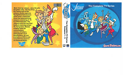 The Jetsons: Complete TV series 11 DVD (75 episodes)